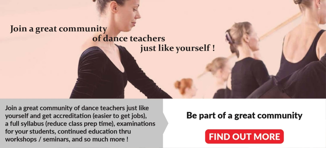 Join a great community of dance teachers just like yourself
