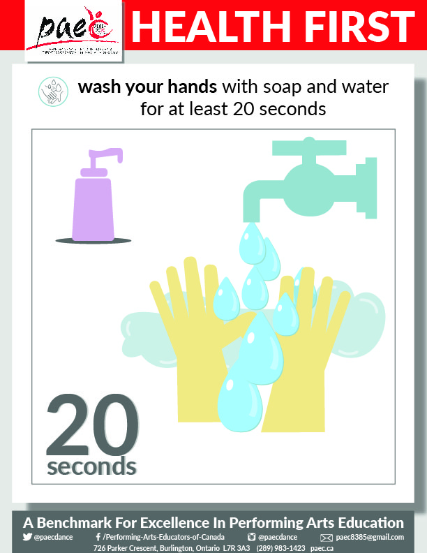 Health first - wash your hands